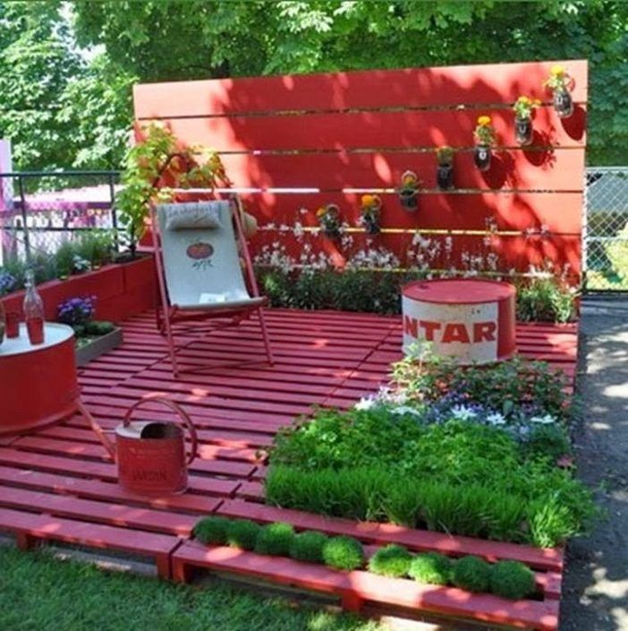 Hast Du Schon Genug Davon? Wir Auf Jeden Fall Noch Nicht! 14 Garten Ideen  Zum Selbermachen Mit Billigen Palletten!