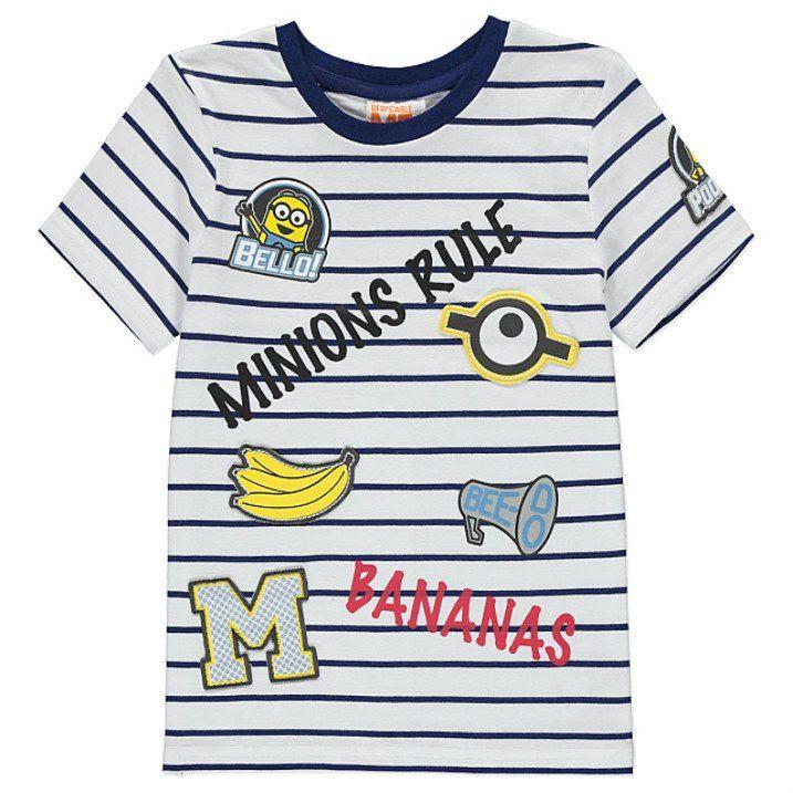 Universal Pictures Minions T-Shirt Bambino