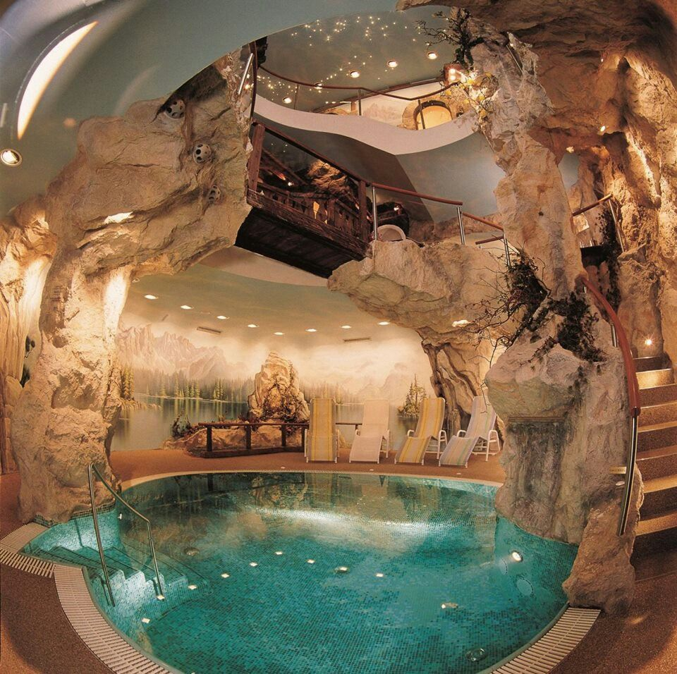 cave house with cave pool omg - Cool Pools With Caves