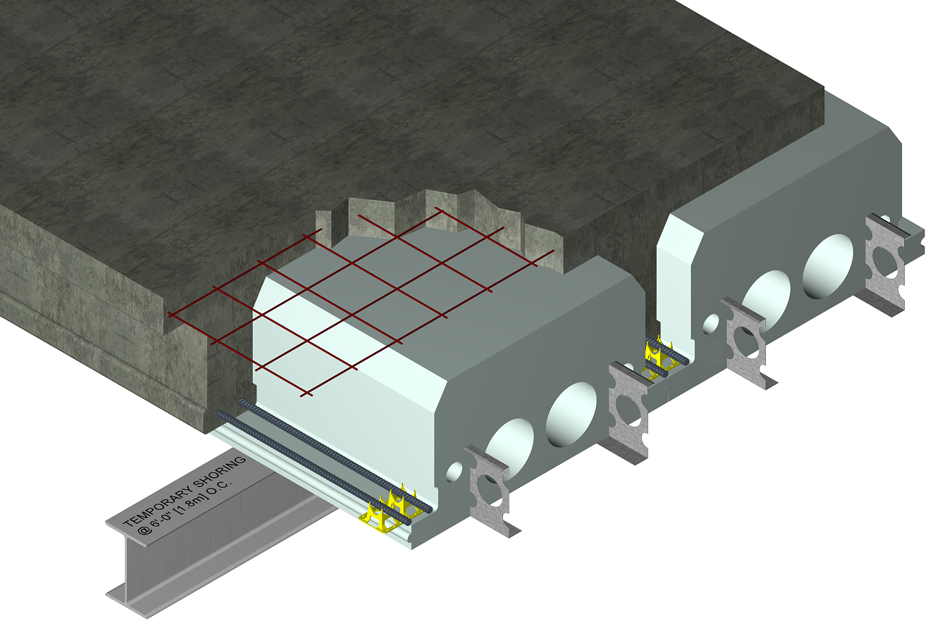 Quad Deck Concrete Floor Assmbly Insulated Concrete Forms Concrete Formwork Concrete Forms