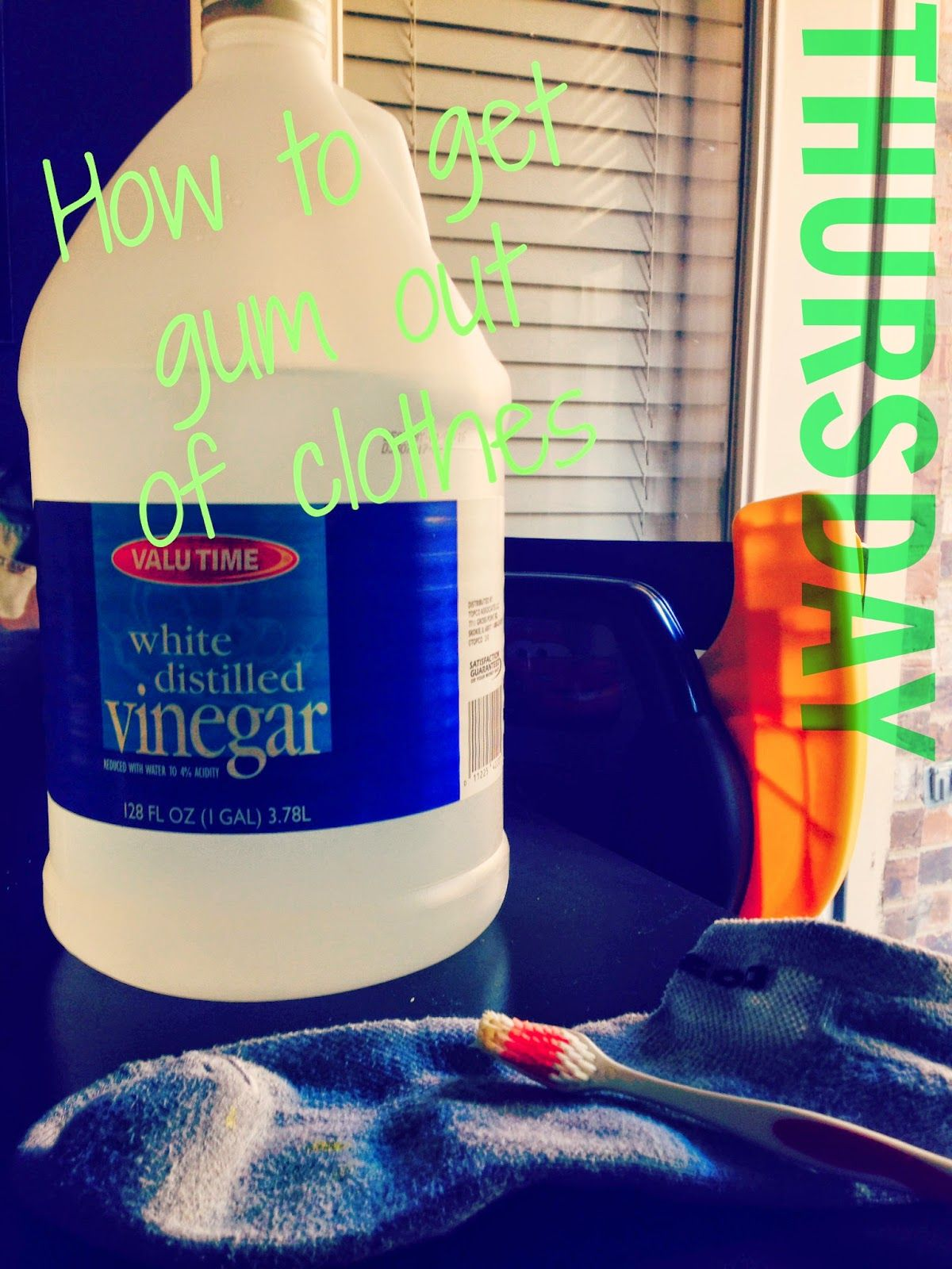 How to get gum out of clothes simple solution for a