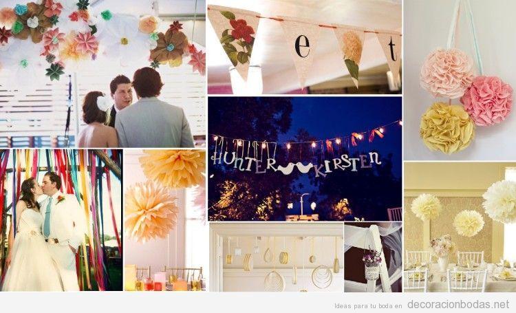 ideas para decorar una boda vintage barata y con