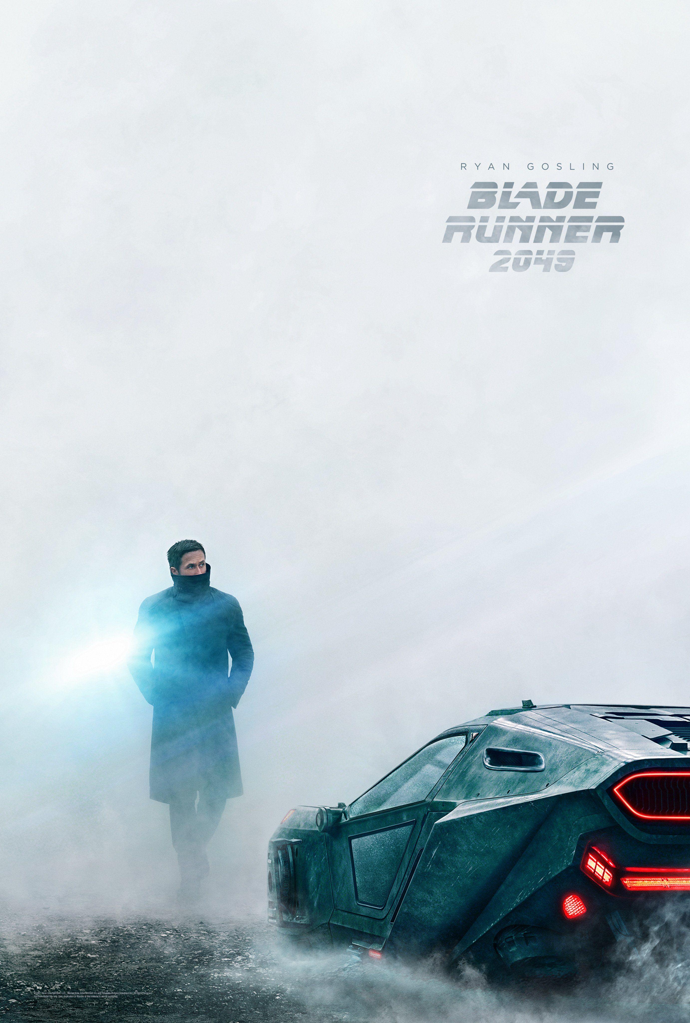 Afbeeldingsresultaat voor blade runner poster 2049 ryan gosling