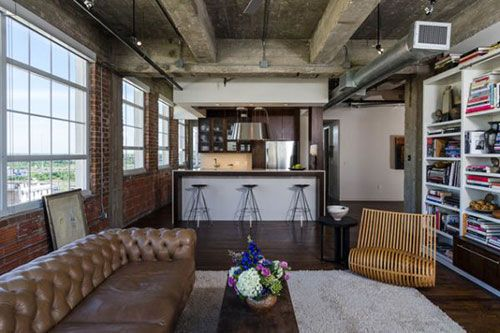 Industriele Woonkamer Interieur : Industrieel huis industriële woonkamer inrichten interieur