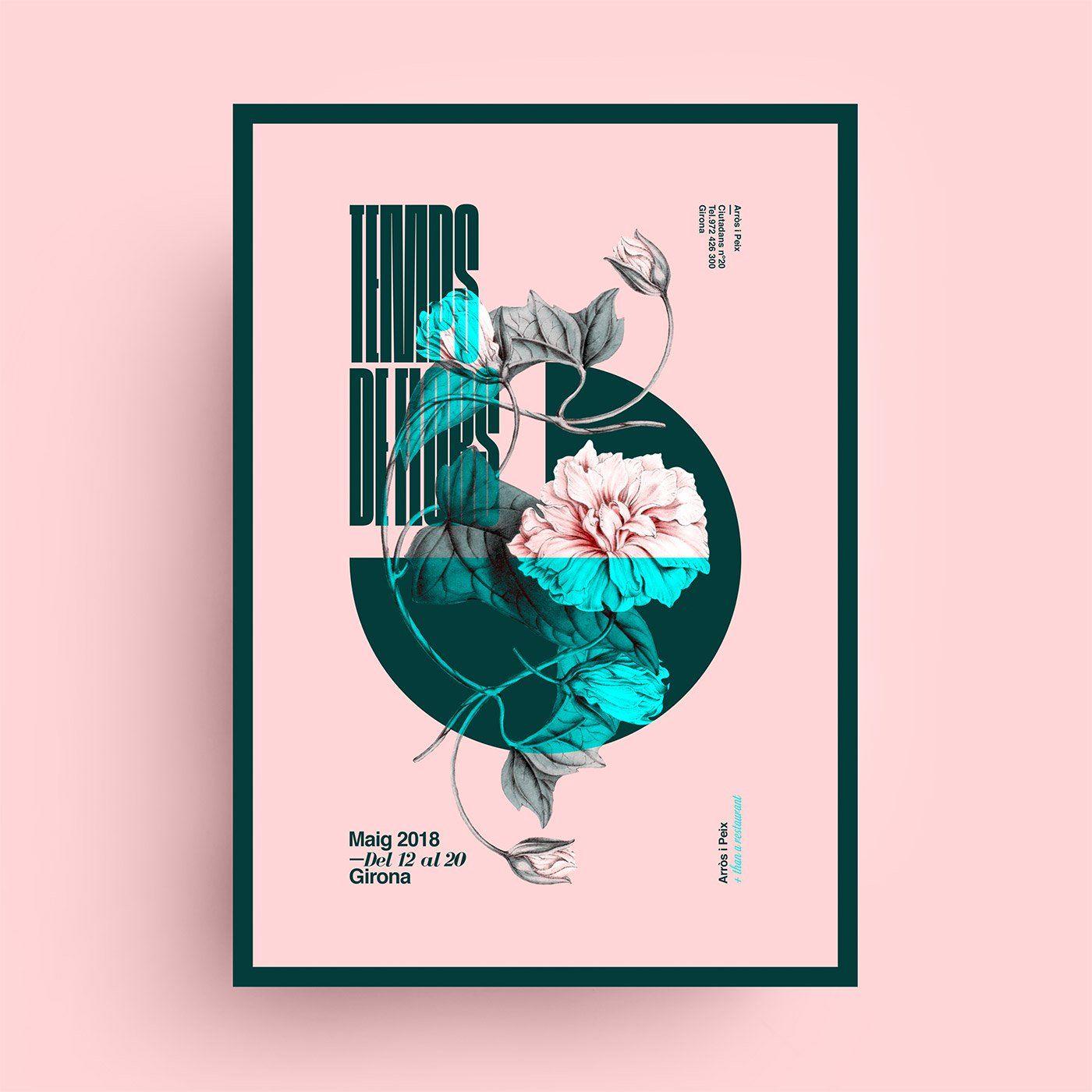 Fantastic Poster Designs By Xavier Esclusa Trias Inspiration Grid Typography Poster Design Poster Design Graphic Design Posters