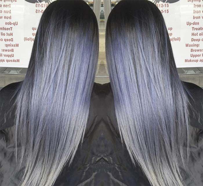50 Magically Blue Denim Hair Colors You Will Love Hair Color Blue