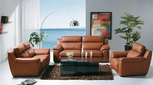 Caramel Couch Leather Sofa Set Leather Sofa Furniture