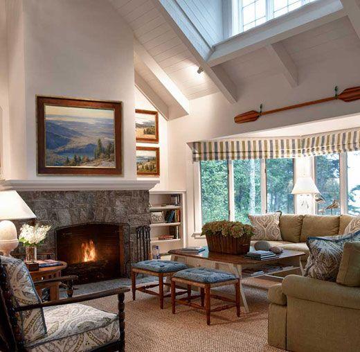 Ann James Interior Design | Cape Cod Residence, Blue Hill, Maine