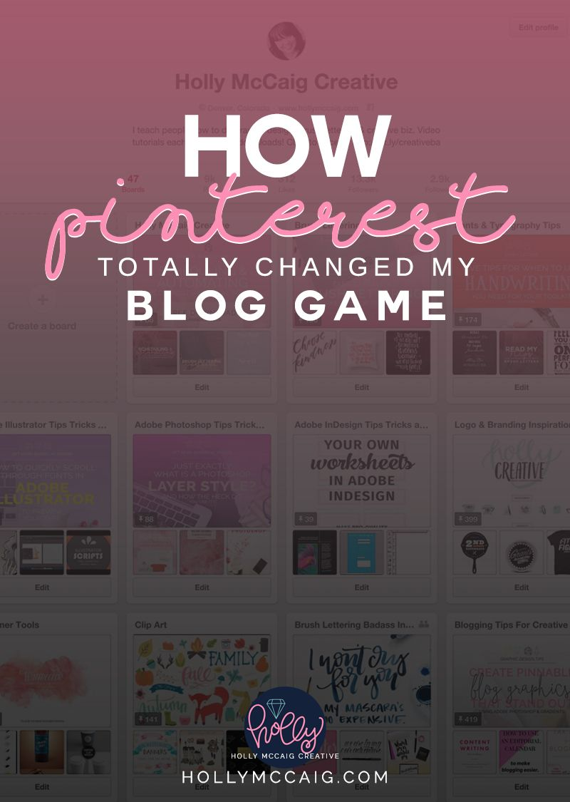 How Pinterest Totally Changed My Blog Game. Taking the e-course, Pinfinite Growth helped me to fully understand the capabilities of the social media platform, and increase my blog traffic.