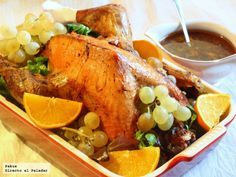 Pavo De Navidad Receta Tradicional Recipe Food Meals Recipes