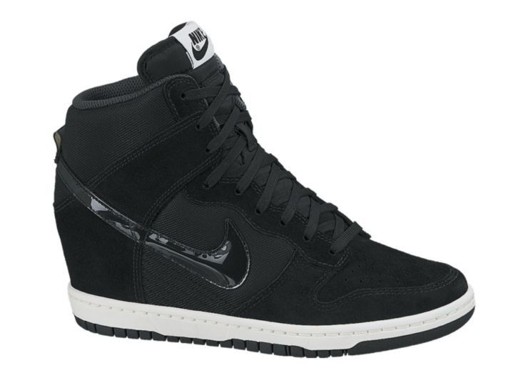3ab69818d8ed Nike Dunk Sky Hi Essential High Top Wedge Sneakers ( 120) ❤ liked on  Polyvore featuring shoes