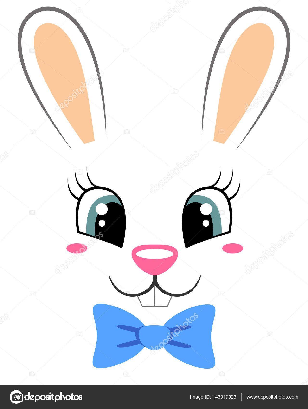 Resultado de imagem para rosto de coelho | Idéias para páscoa ...