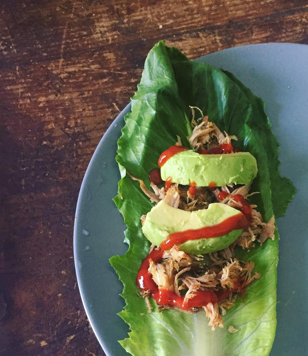 Carnitas by @mrpotatoes  lettuce wraps by me. #keto #healthyeating #paleo #healthylife #healthy #wholefood