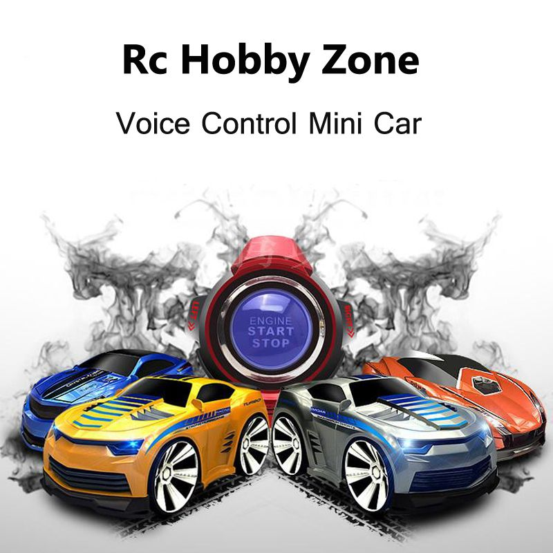 0bd2e001449 Awesome Mini 4 Channels RC Car With Smart Watch Voice Control Remote  Control Cars On The Radio RC Toys For Children 663 - Buy it Now!