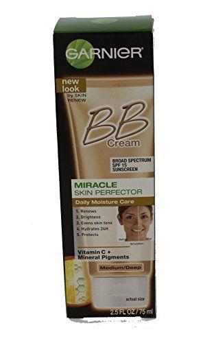 Garnier Bb Cream Skin Renew Medium Deep 2 5 Oz Pack Of 3