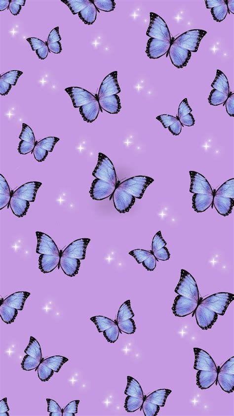 Butterfly Wallpaper | Butterfly Wallpaper, Purple
