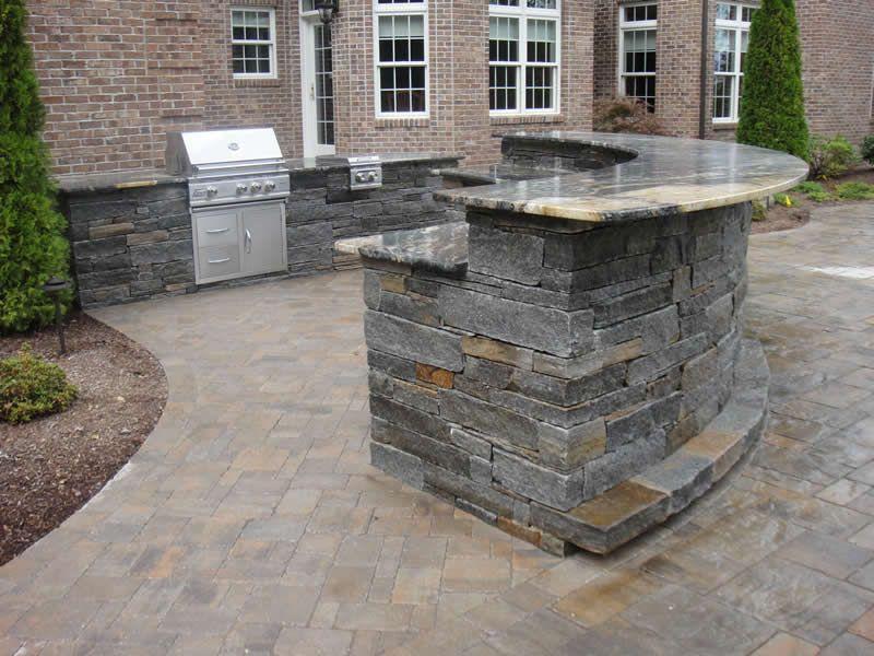 Outdoor Kitchen Bar Outdoor Kitchens (5b) Granite