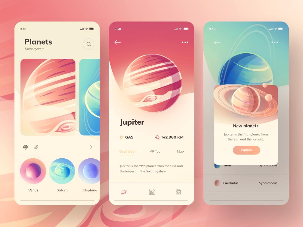 App Concept ウェブデザイン デザイン 画板