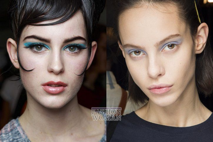 Hairstyles 2019: Модный макияж осень-зима 2018-2019