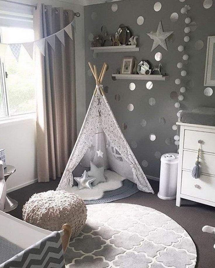 60 Modern-Chic Nursery & Toddler Rooms @finabarnsaker #toddlerrooms