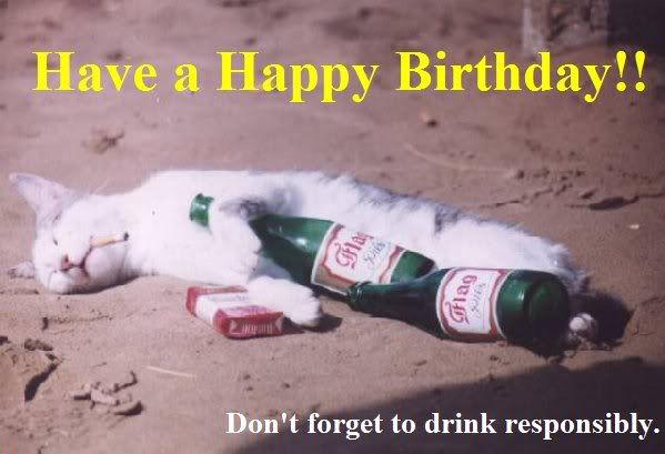 Funny Cat Drinking Meme : Funny birthday quotes drinking funny funny