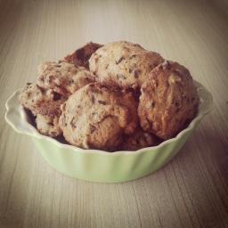 Recette cookies aux pépites de chocolat croustillants et moelleux.