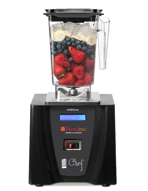 The Blendtec Chef Blender offers a unique interface that