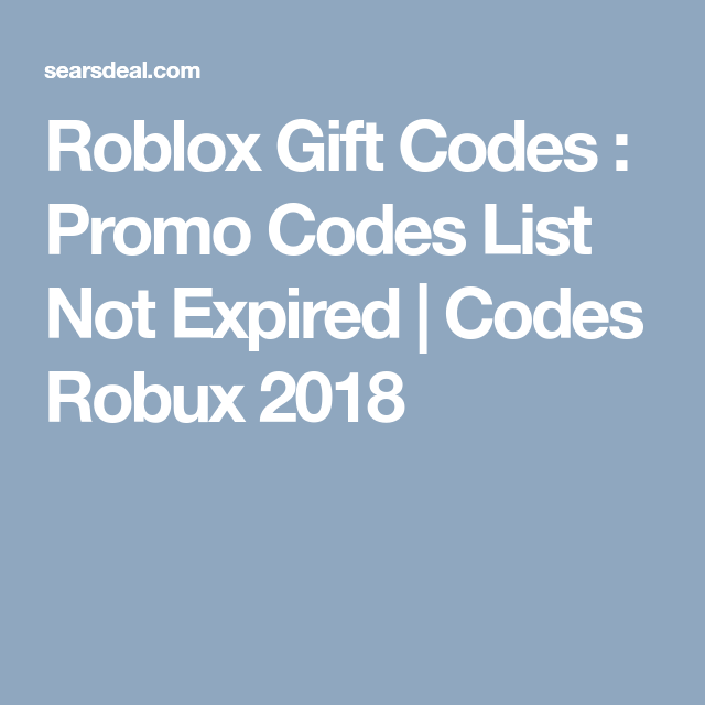 101may18 Roblox Promo Codes List W Free Roblox Codes 2018