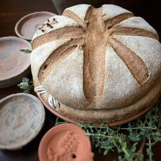 Taste the history of ancient Rome with this recipe for ancient Pompeiian bread.   Roman food ...