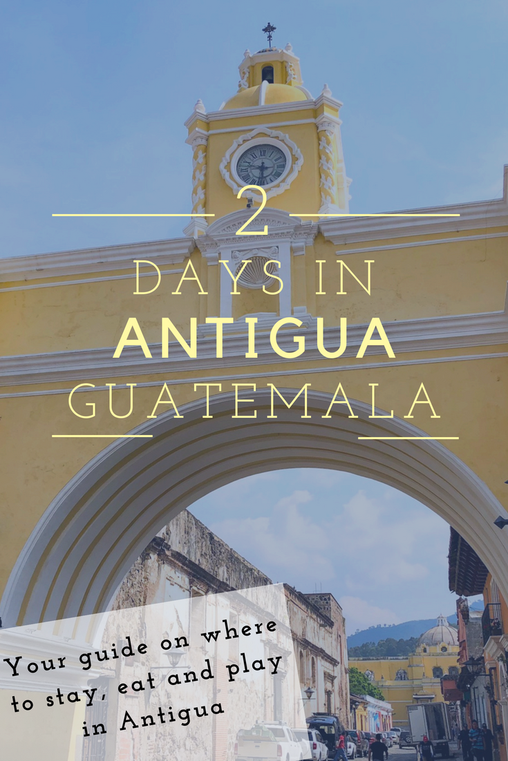 (1/2) Antigua Guatemala Walk 2018 - YouTube