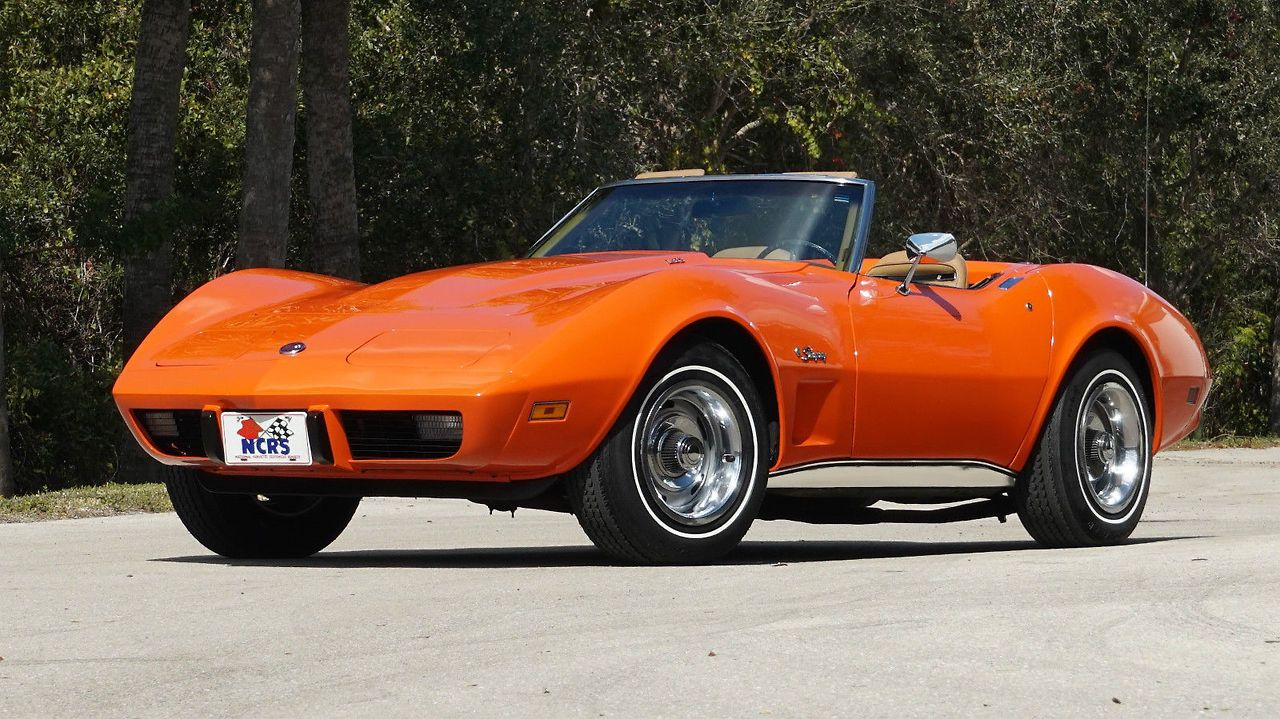 1975 Chevy Corvette Convertible Chevrolet Corvette Corvette