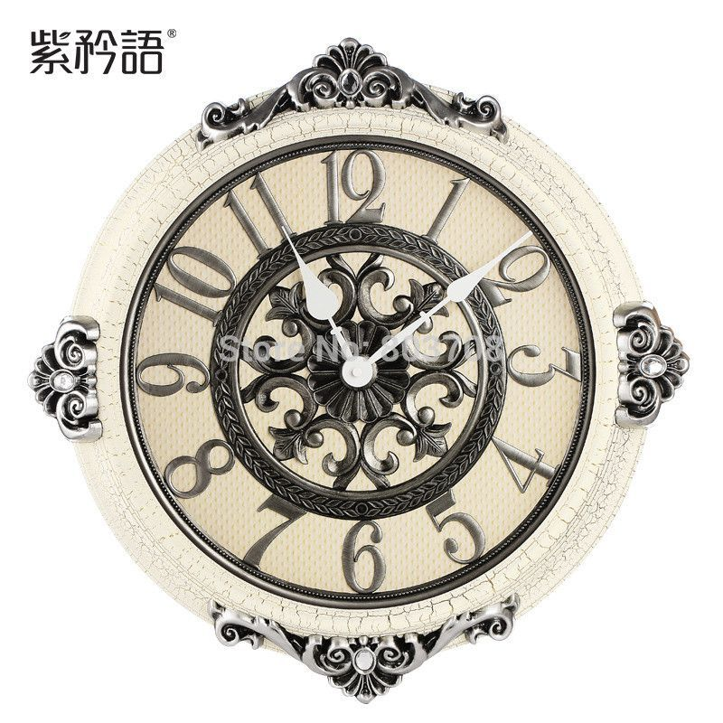 Beautiful European Style Luxury Wall Clock Loluxe Online Store