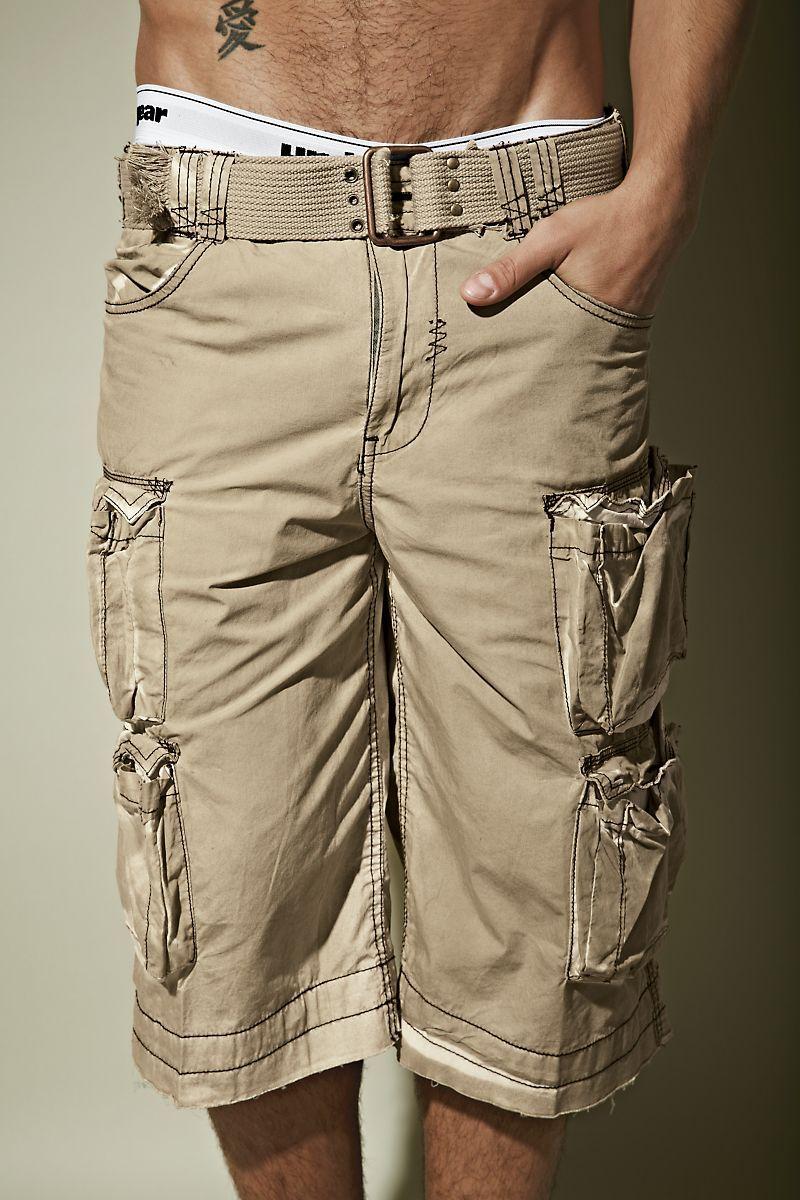 e55a4c146d Xray® Crush Paper Mens Shorts | UnderGear Men's shorts Cotton cargo shorts  for men 15-1/2