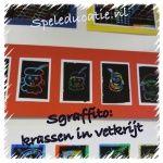 Bekijk deze afbeelding op Speleducatie.nl: Sgraffito, waskrijt