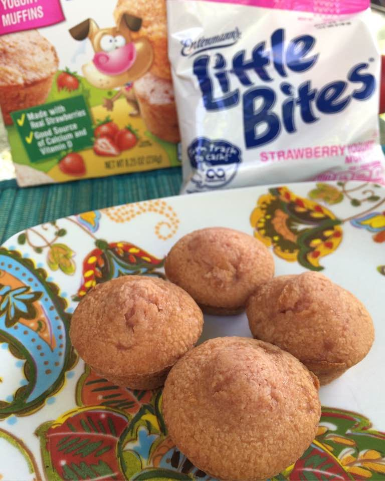 recipe: little bites strawberry yogurt muffins [37]