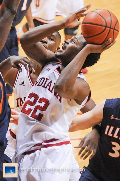Stan at Indiana's 56-46 win over Illinois on Sunday at Assembly Hall    #IUCollegeBasketball