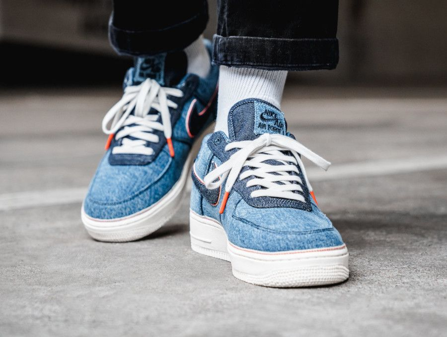 Nike Air Force 1 3x1 Denim | Chaussure sneakers homme, Baskets ...