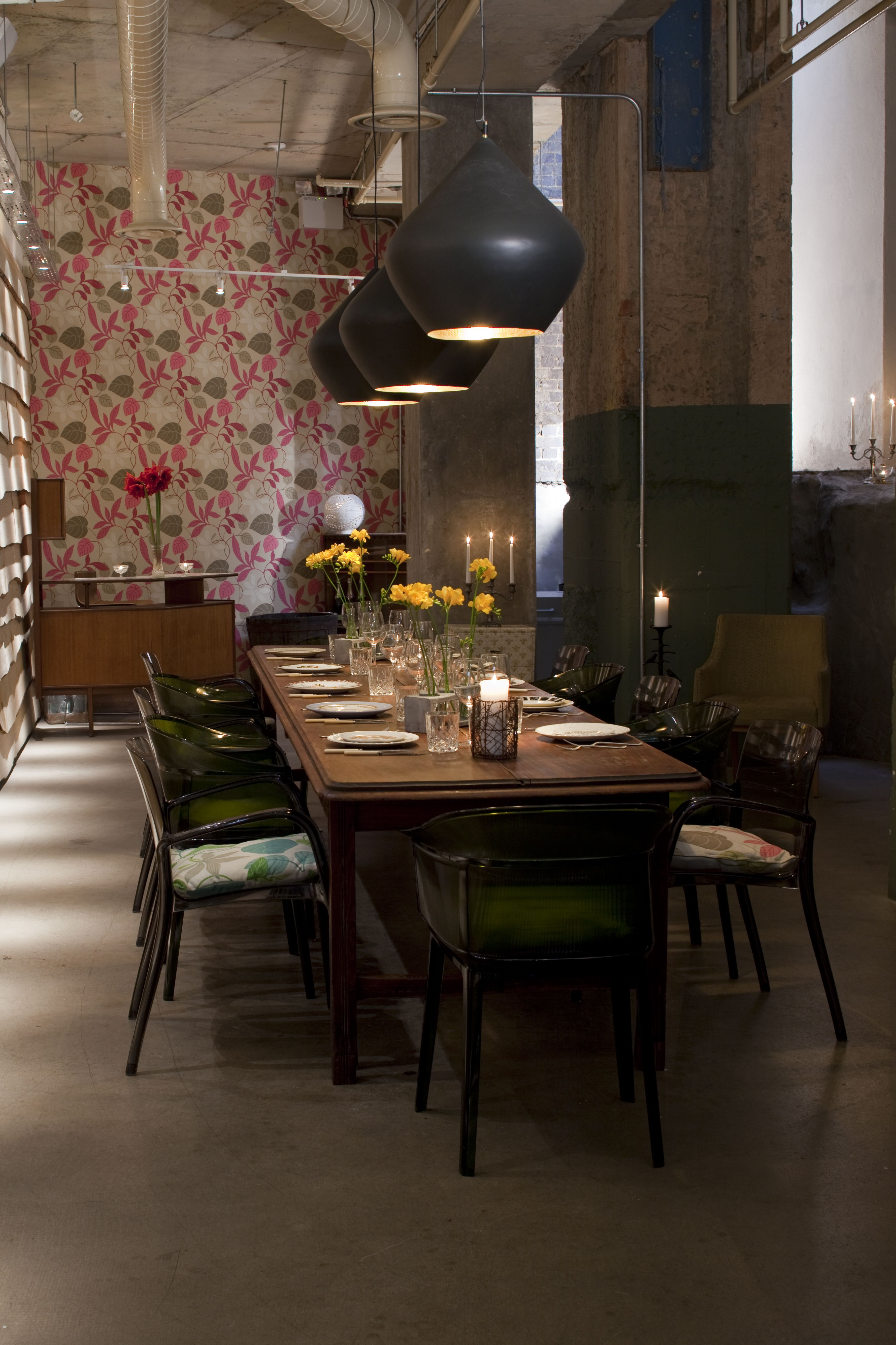 The Folly Bar - Private Dining Room - Drake & Morgan Collection ...