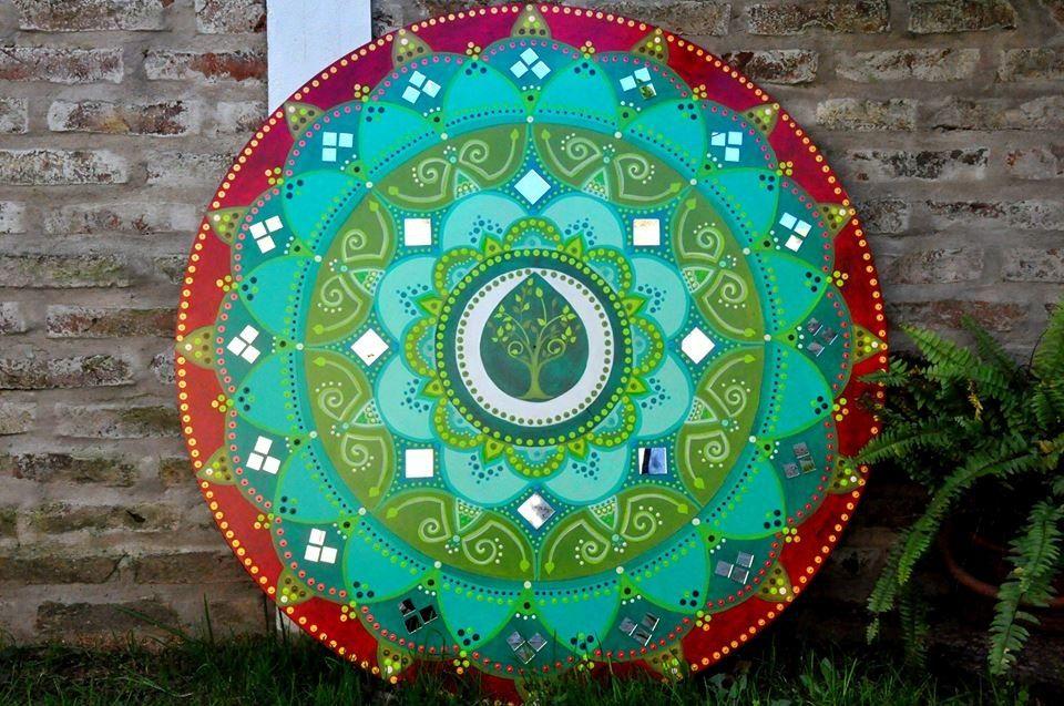 Cuadros mandalas pintados a mano 501 mla4698828354 072013 - Cuadros mandalas ...