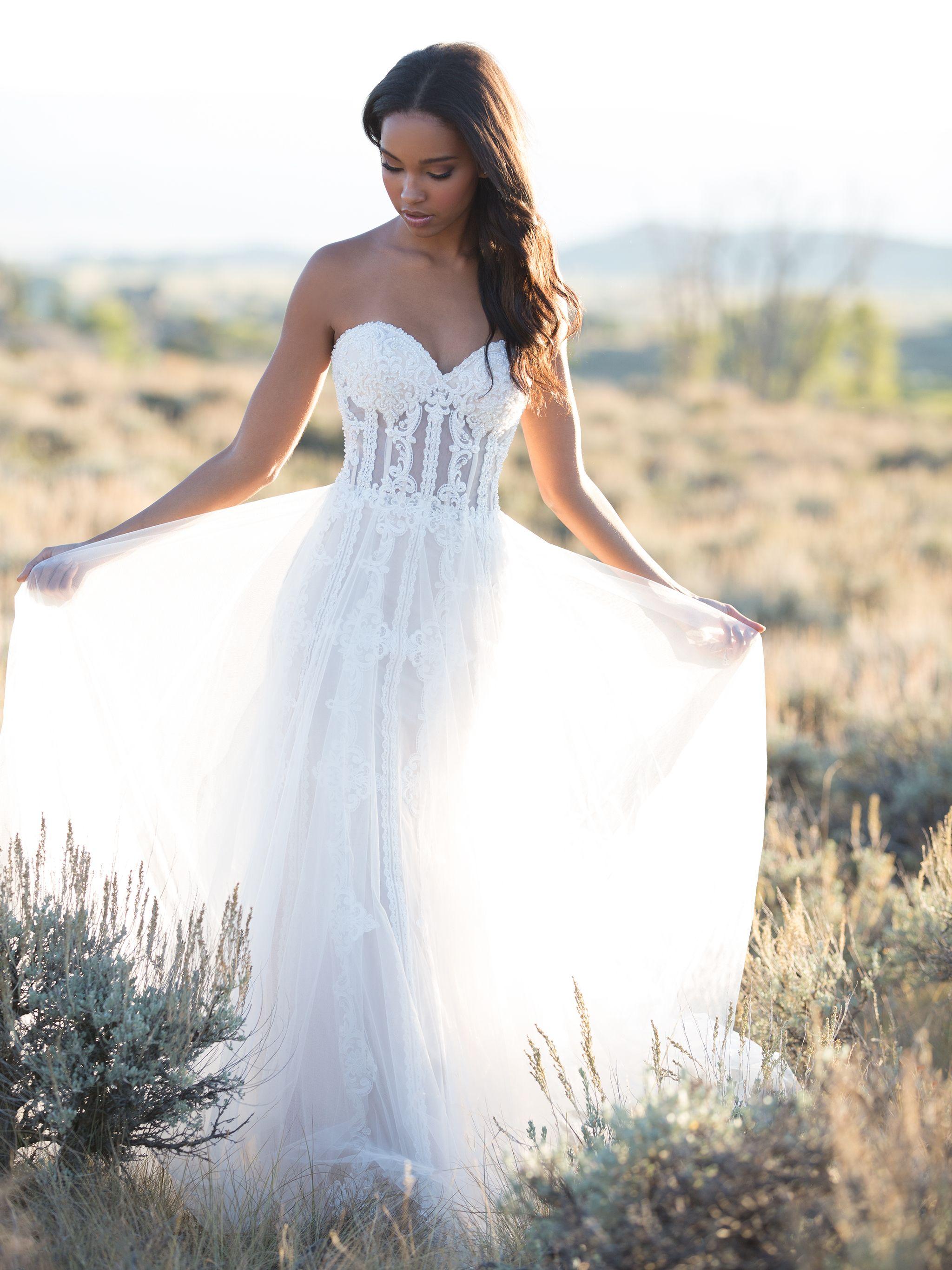 Allure Bridals 9523 | allure bridals | Pinterest | Allure bridal ...