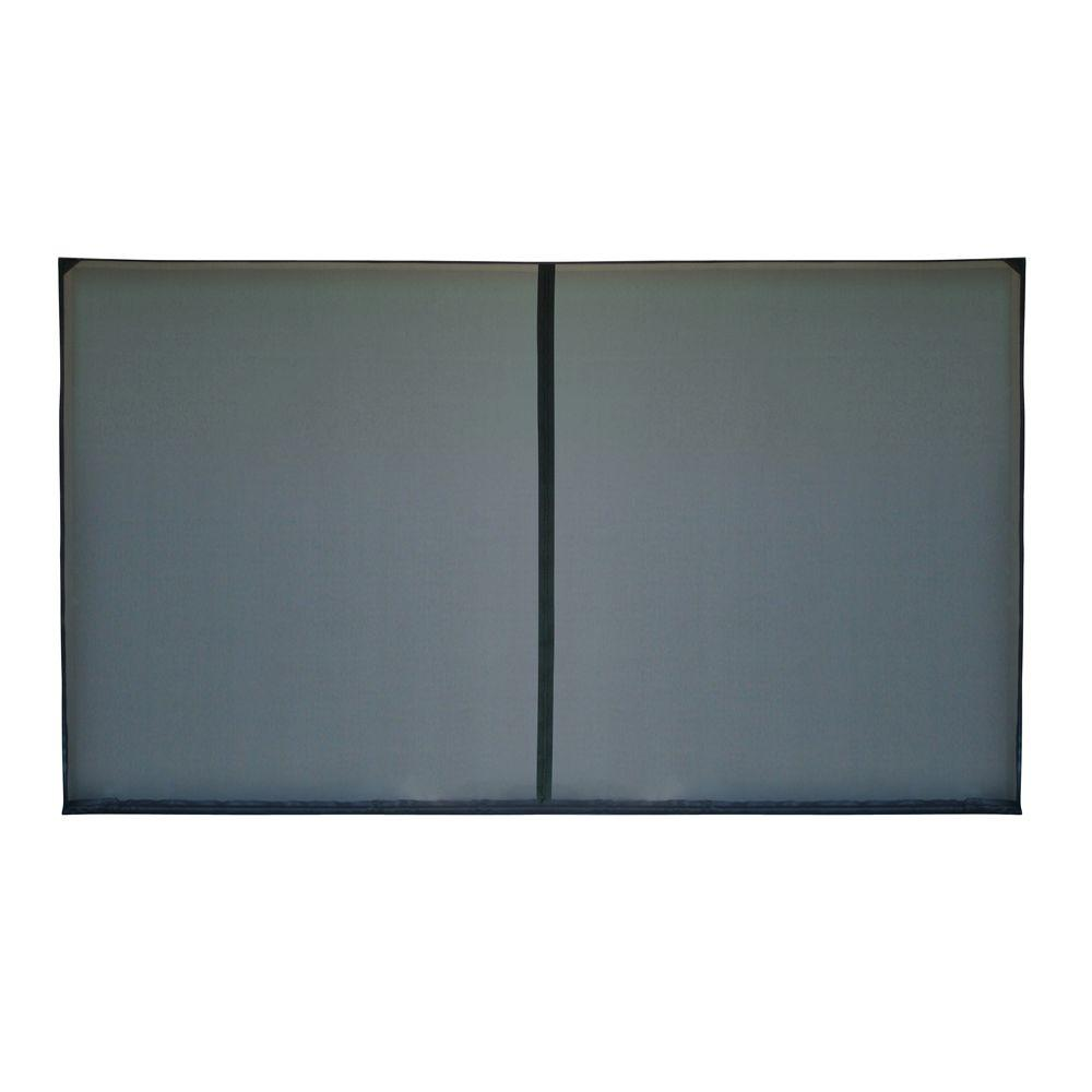 Fresh Air Screens 10 Ft X 8 Ft 1 Zipper Garage Door Screen 1231 B 108 The Home Depot Garage Screen Door Garage Doors Contemporary Garage Doors