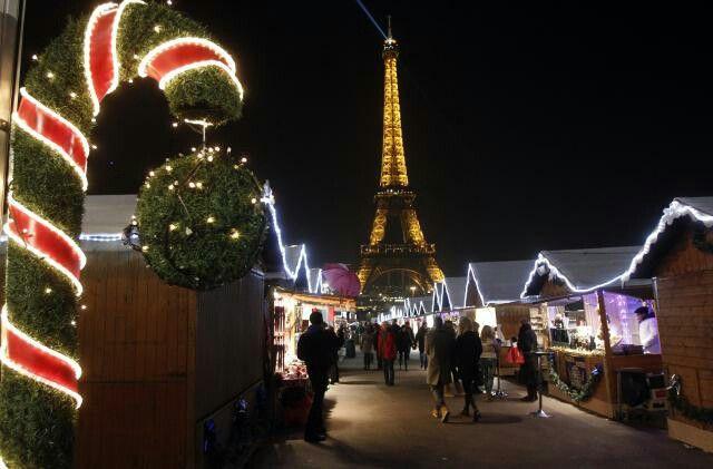 Paris Xmas, Christmas , Kerst, Noël Tour Eiffel Eiffeltower