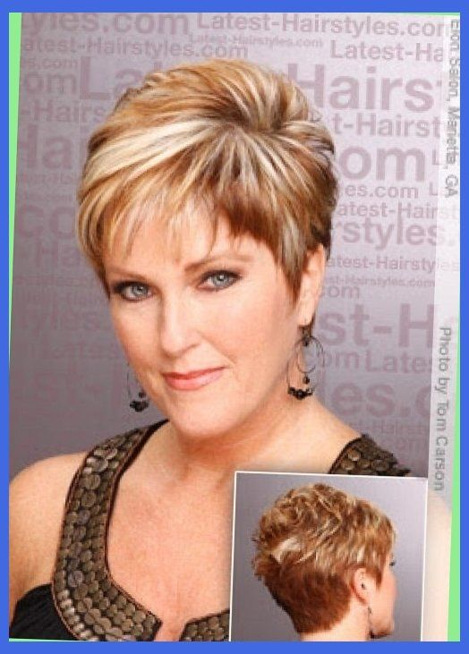Image Result For Short Edgy Haircuts For Double Chin Thick