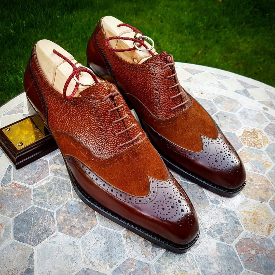 Ascot Shoes — These Spectators or Correspondent shoes with