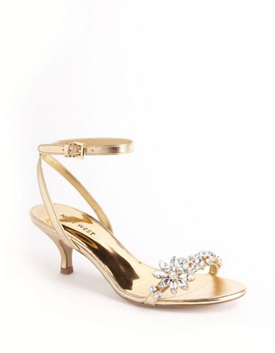 Shoes | Special Occasion | Off Course Jeweled Sandals | Lord and Taylor