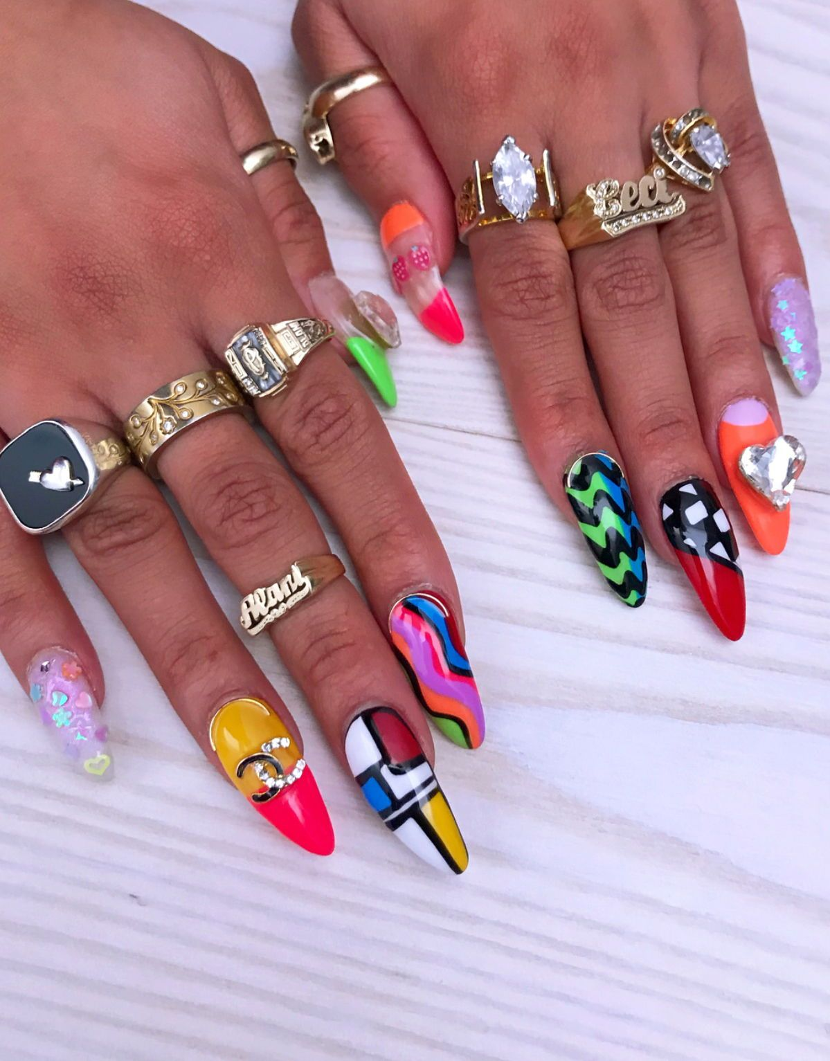 Crazy Cool Nail Art Nail Designs Pinterest Nail Shop Amazing