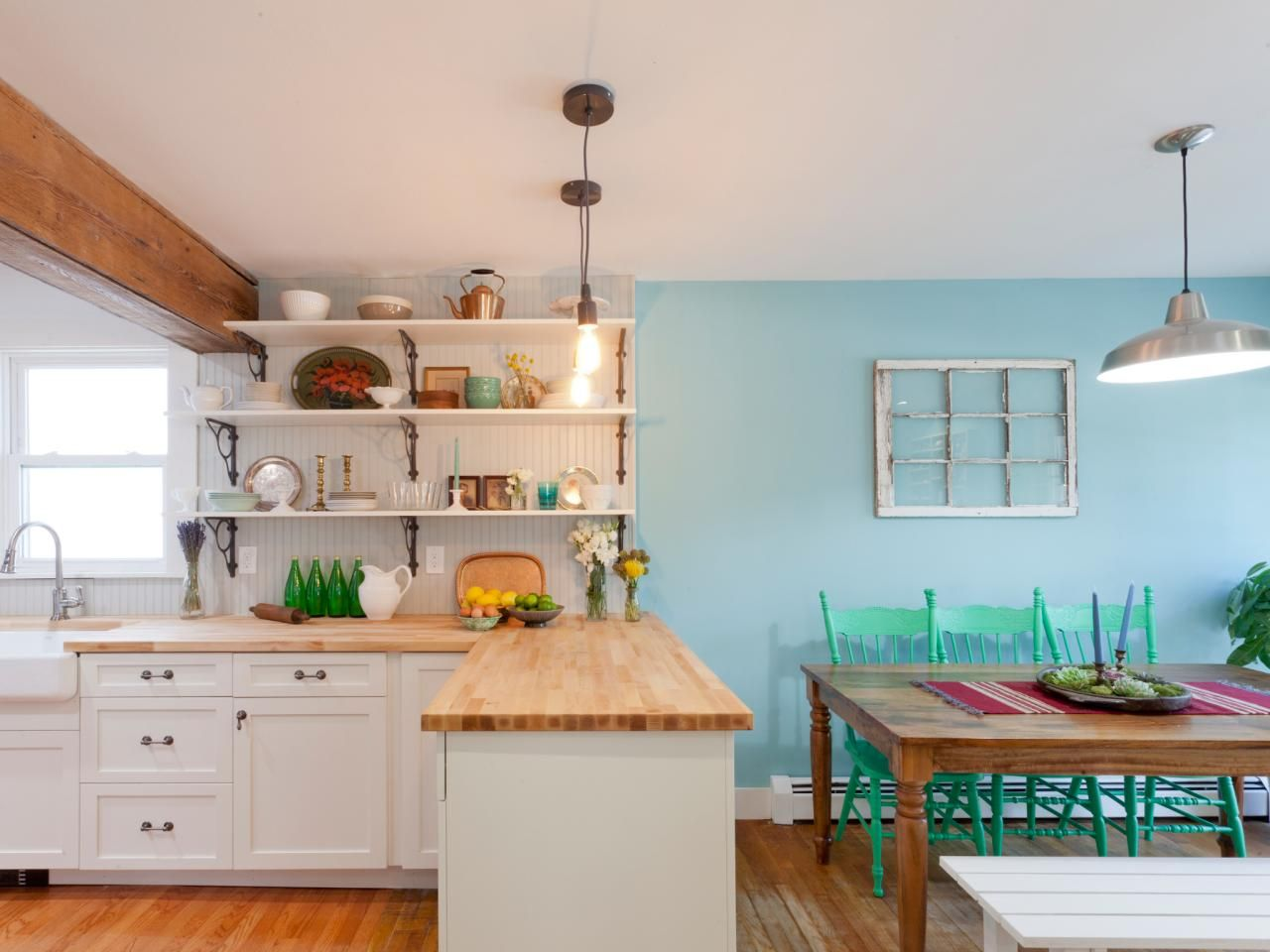 This open plan kitchen, as seen on HGTV\'s Cousins Undercover ...