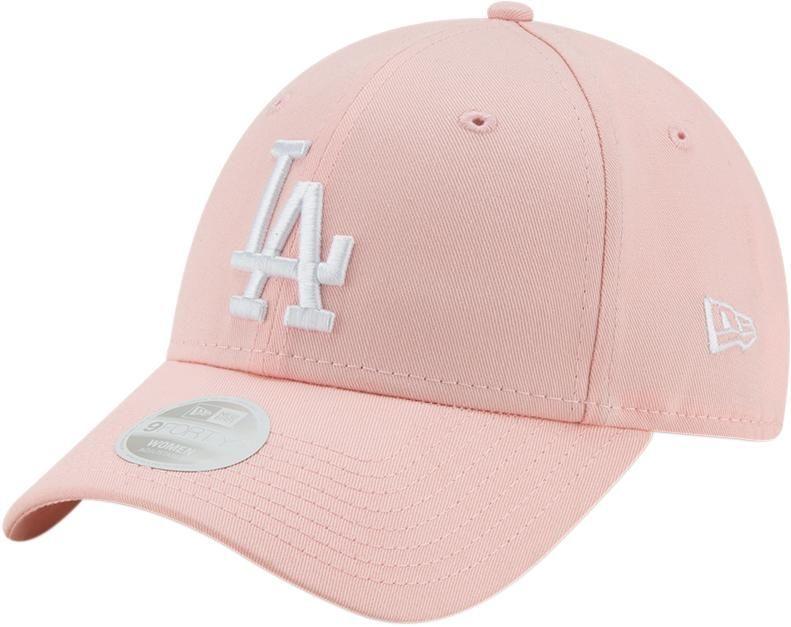 307ef6948 LA Dodgers Womens New Era 940 League Essential Pink Baseball Cap in ...