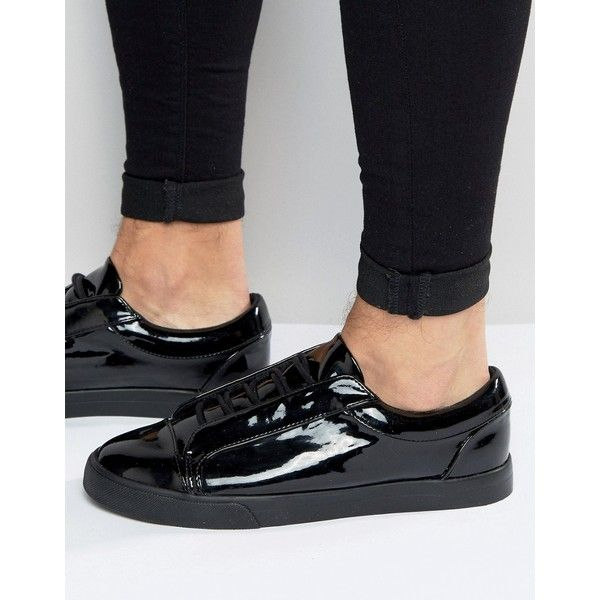 Sneakers, Mens patent leather shoes