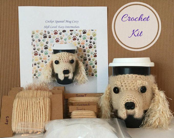 Kit de crocket - Amigurumi - Crochet patrón perro - Kit de inicio de ...